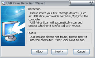 remove folder virus in USB key